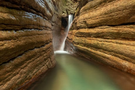 Wasserfotografie im Tauglbach