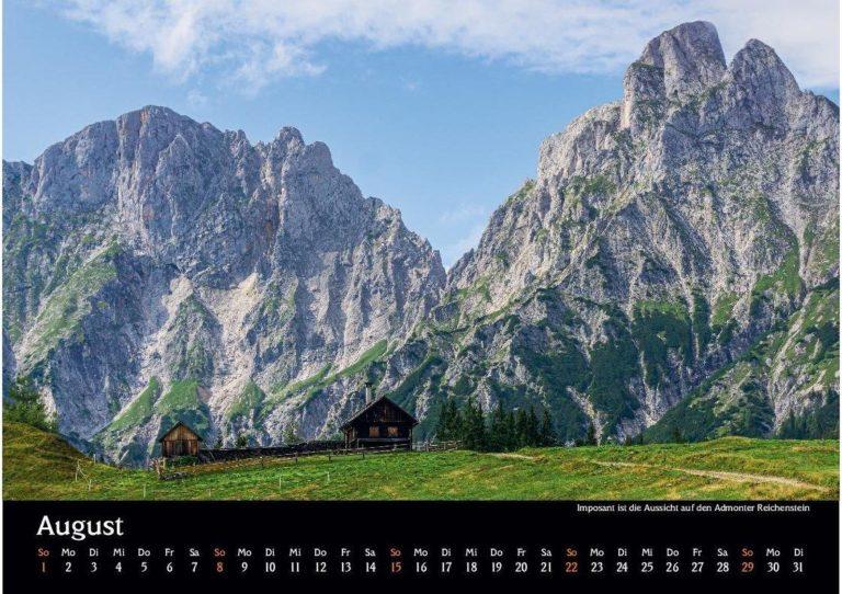 10 Manuel Capellari Kalender Ennstaler Lichtblicke 2021 – August