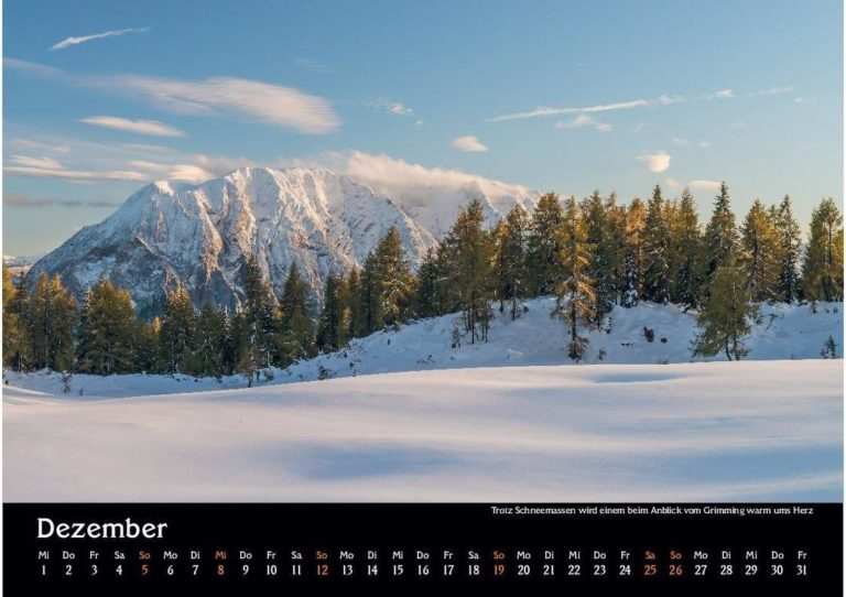 14 Manuel Capellari Kalender Ennstaler Lichtblicke 2021 – Dezember