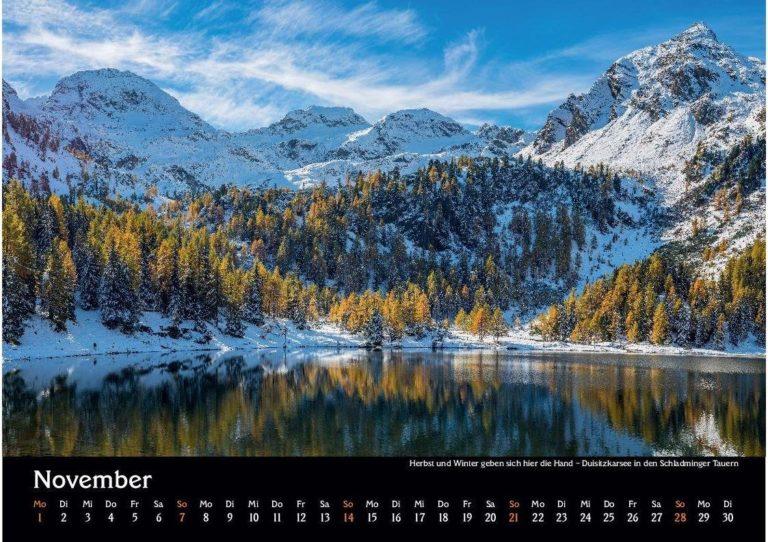 13 Manuel Capellari Kalender Ennstaler Lichtblicke 2021 - November