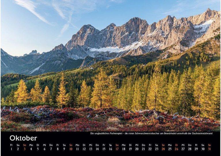 12 Manuel Capellari Kalender Ennstaler Lichtblicke 2021 – Oktober