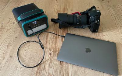 mobile Stromversorgung für Fotoequipment und mehr …