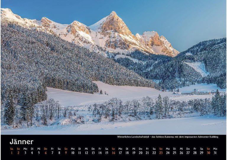 manuel capellari kalender ennstaler lichtblicke 2022 jaenner